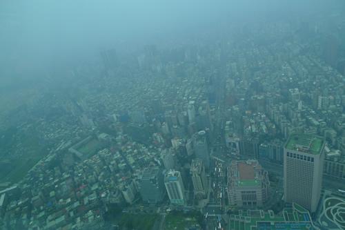 台北101からの風景