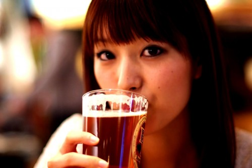 美人×麦酒 睦子さん