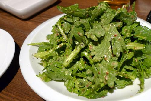 IPAに合う春菊のサラダ