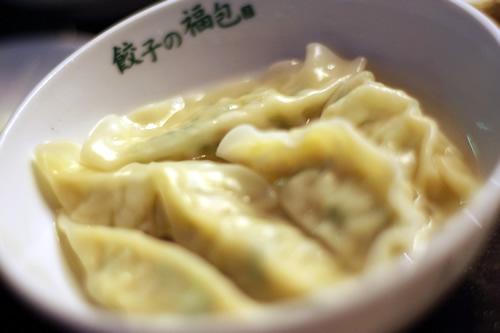 水餃子(6個) 290円