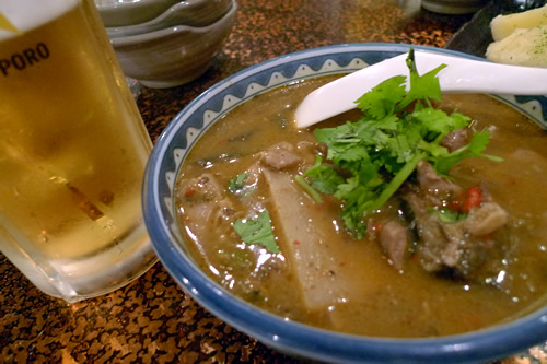 タイ風鶏肉とレッドカレー煮