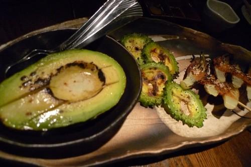 アボカドと野菜のグリル