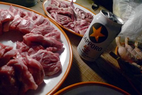 肉&ビール