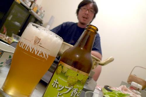 okamoooさんと名古屋のビール