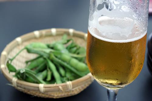 DEN Rokuen-Tei 枝豆&ビール