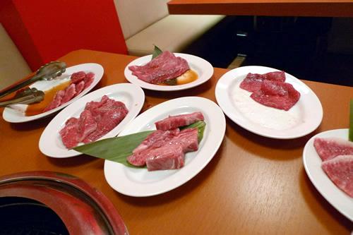 いろんなお肉