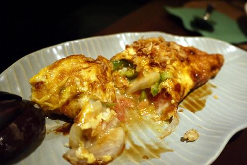 インドネシア風野菜入りオムレツ