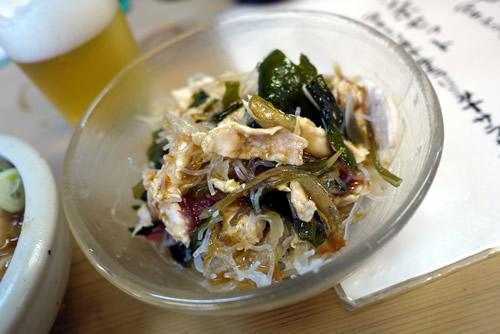 海藻サラダ(ササミ入り)