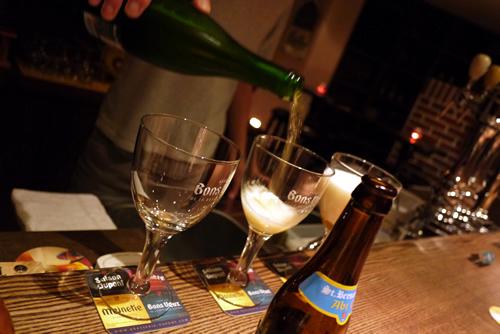 Bons Veux お祝いのビール