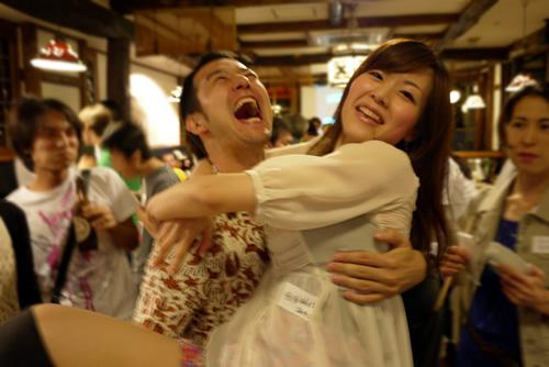綾子さんも抱っこ!