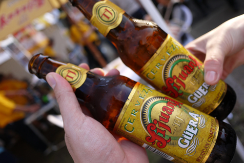 メキシコのビール