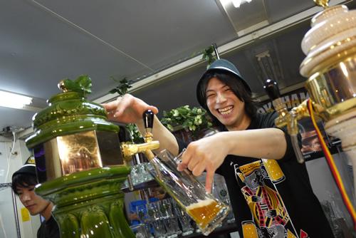りょうさん at 横浜ビール