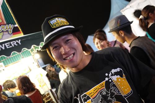 横浜ビールの五條さん