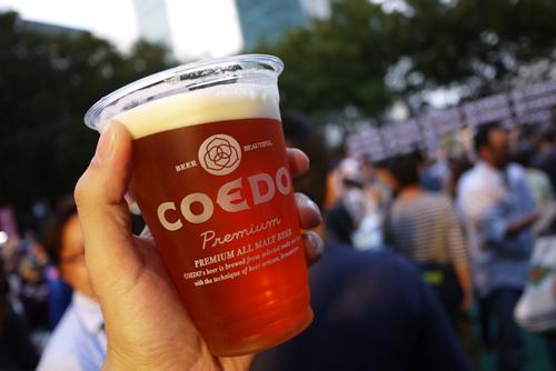 コエド祭スペシャルビール