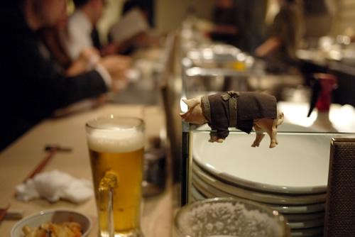 婁熊東京の豚