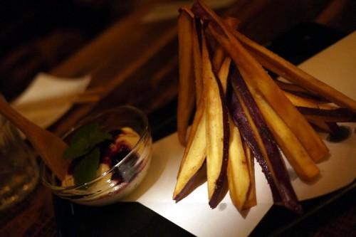 サツマイモのポテトフライ