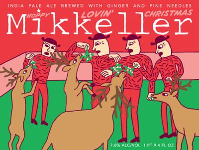 Mikkeller Hoppy Lovin Christmas Front Final