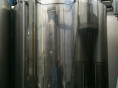 発酵タンクの中ではビール酵母ががんばっています!