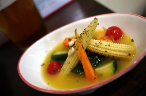 5種類の野菜オレンジピクルス