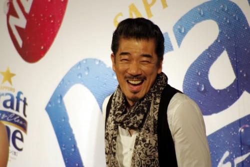 宇崎竜童さんの素敵な笑顔