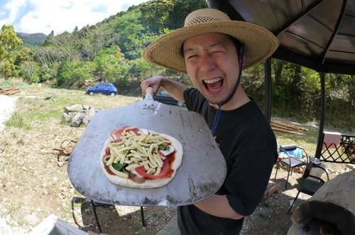 ピザに挑戦!