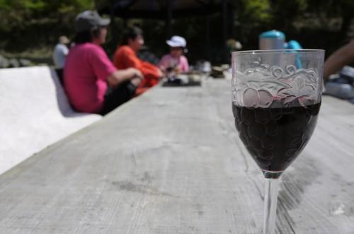 赤ワインでまったり