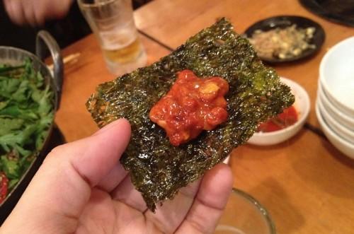 納豆キムチ巻