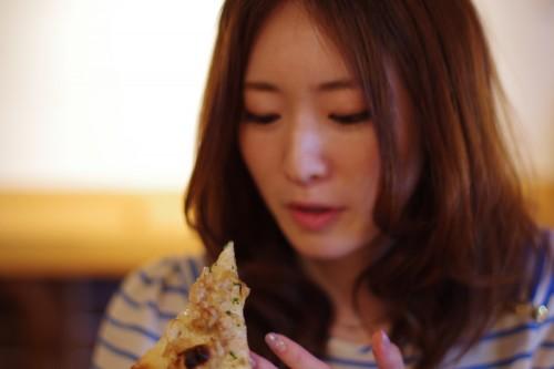 ピザをいただきます!