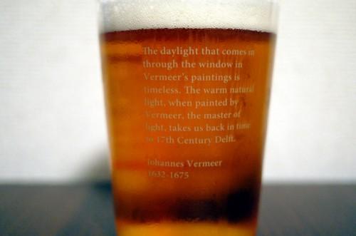フェルメールのビアグラス