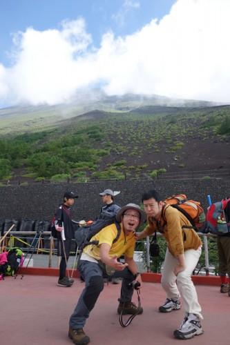 富士山に行って来ました。