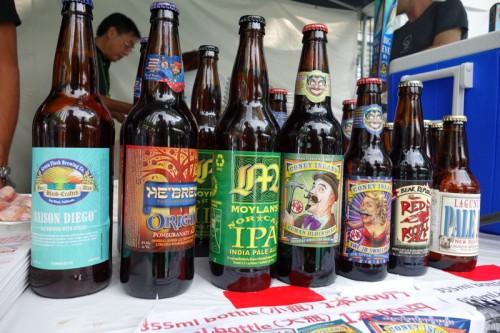 ボトルビールも!