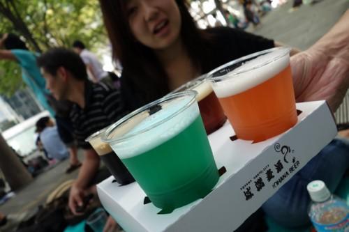 カラフルビール祭り