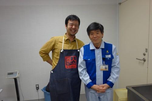 野口さんと記念撮影