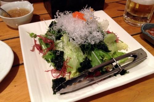 たっぷり海藻と生のりのサラダ