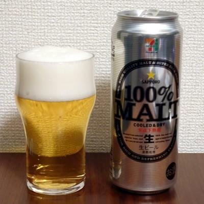 サッポロビール セブンプレミアム 100%MALT