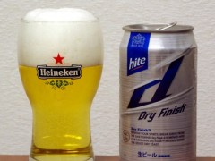 韓国 hite Dry Finish