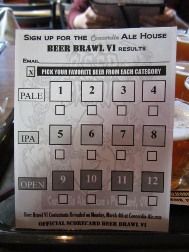ビールカード
