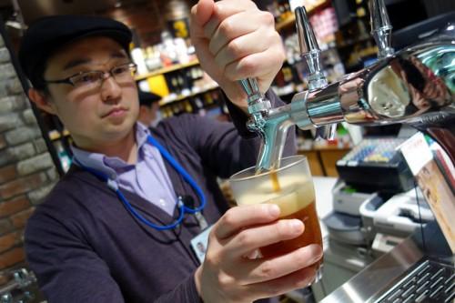 東京駅構内のルコリエでクラフトビール100選!