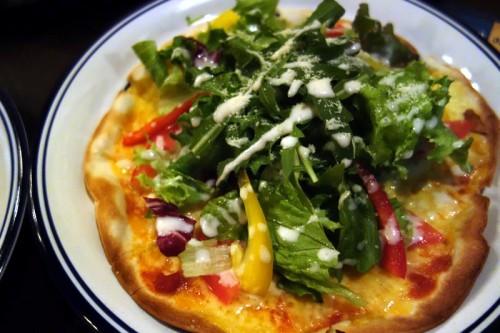 サラダのPizza