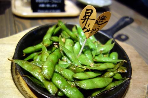 中札内枝豆ガーリックバター醤油焼