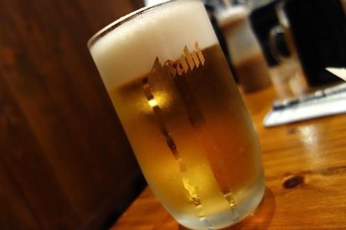 疾風ホルモン ビールはアサヒ