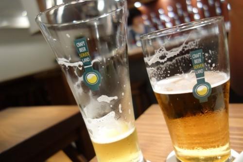 サーバーランドのグラス