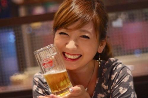美人×麦酒 麻美さん