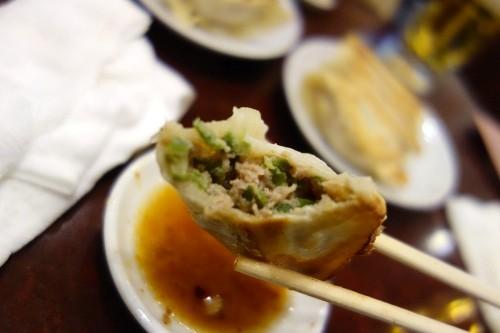 ザーサイ焼餃子
