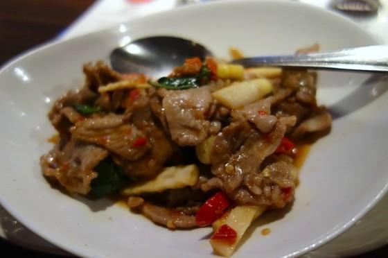タイ風の炒め物
