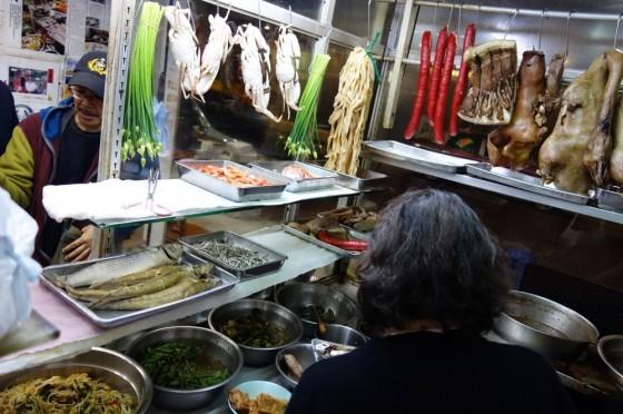 香港での食事