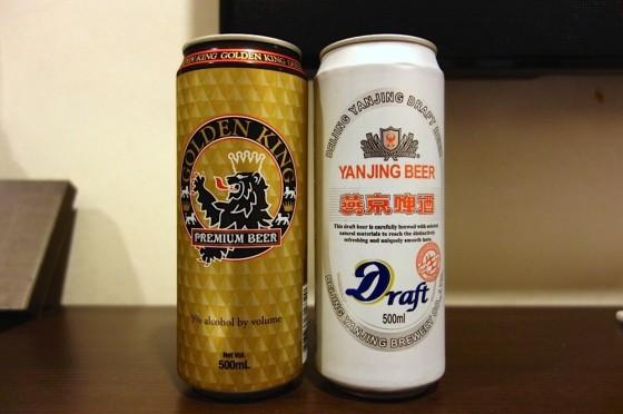 香港のコンビニで買ったビール