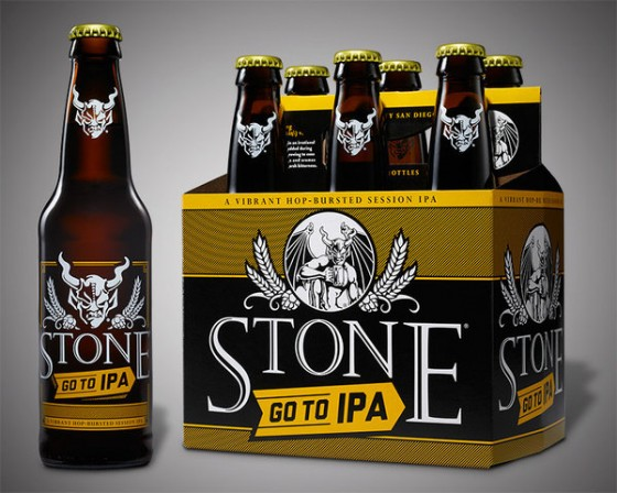 Stone's new Go to IPA