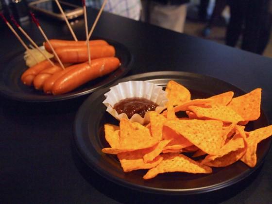 チーズトルティーヤのBBQソース