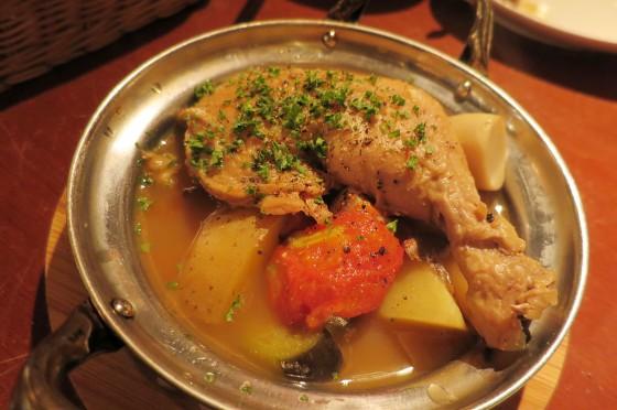 鶏肉のポトフ